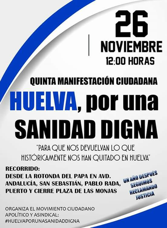 Sanidad Huelva 26N (2)