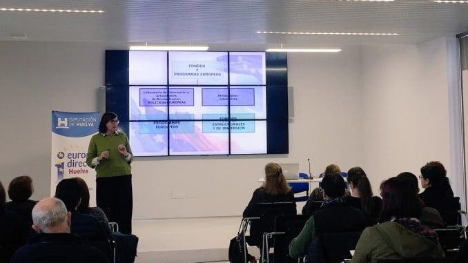 Europe Direct Huelva ha organizado una sesión sobre los programas europeos