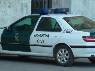 La Guardia Civil puso a disposición judicial al detenido