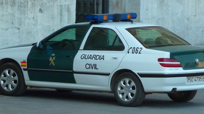 La Guardia Civil puso a disposición judicial al detenido