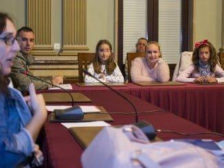 Imagen del Consejo Infantil del Ayuntamiento de la capital