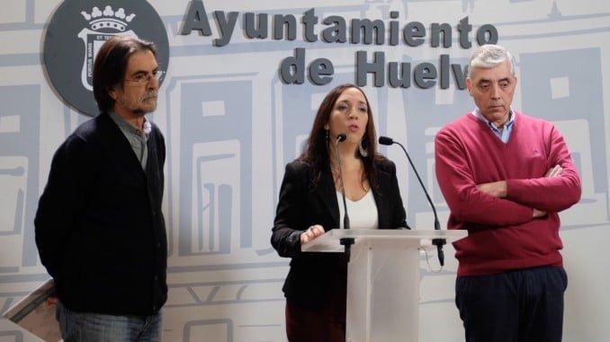 Alicia Narciso junto a José Miguel Bernal y Francisco Márquez
