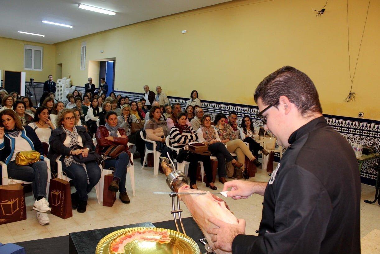 Antonio González Cárdeno, primer premio en la XXI Feriadel jamón de Aracena