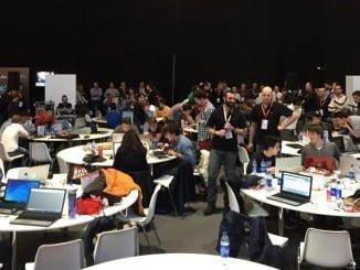 Imagen retrospectiva de la pasada edición de CyberCamp