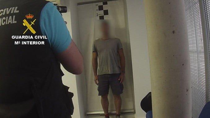 Imagen retrospectiva de una detención en Aracena