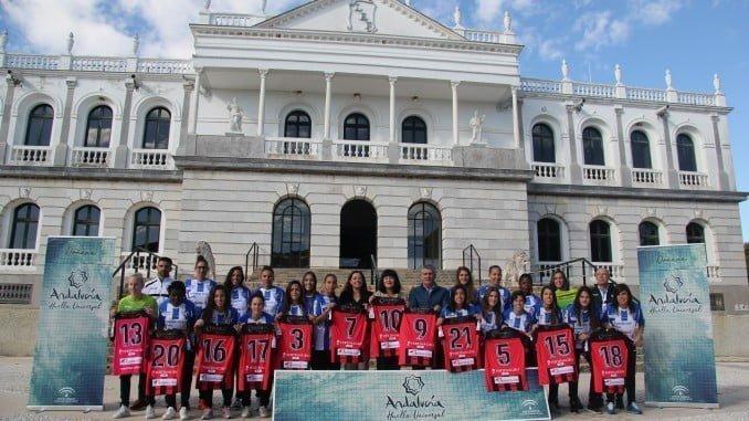 El Sporting ha presentado nu nueva marca en el Palacio del Acebrón del Parque Nacional de Doñana