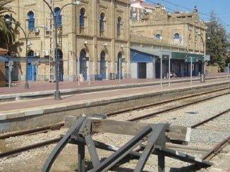 A las 06.25 horas se ha suspendido el tráfio ferroviario entre Huelva y Sevilla