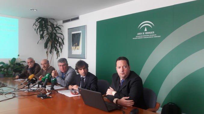 El director general de Prevención y Calidad Ambiental de la Junta de Andalucía, Fernando Martínez, ha detallado los parámetros del estudio