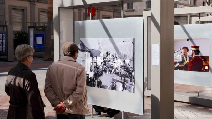 Cuarenta fotógrafos del país muestran sus obras en la Plaza de la Constitución