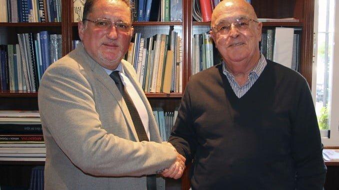 El presidente de la Asociación Stop Impuesto de Sucesiones con el presidente de Feragua