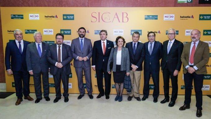 Autoridades en la inauguración del Salón Internacional del Caballo