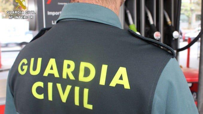 La Guardia Civil ha conseguido detener a los autores del atraco en una gasolinera de Manzanilla