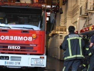 Los bombeors han contorlado rápidamente el fuego en la vivienda