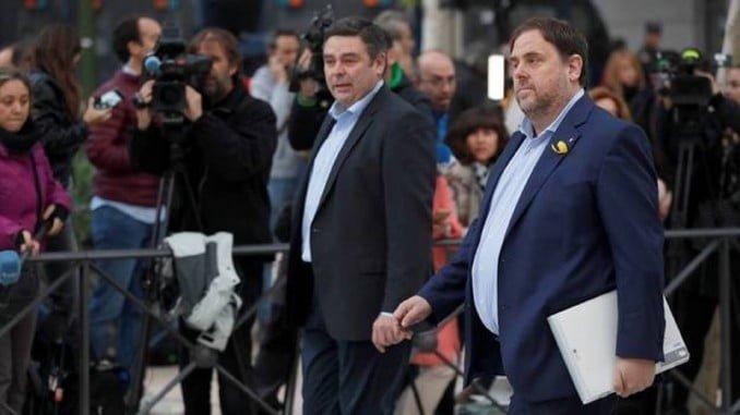 Junqueras y los exconsejeros del Govern cesado, a prisión