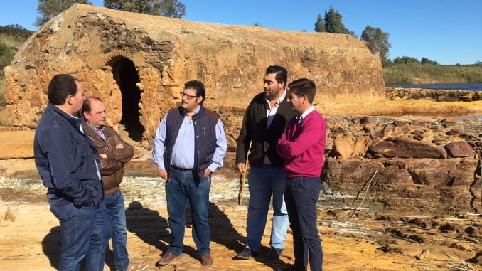 Dirigentes del PP han reclamado en Villarrasa un centro de interpretación de los molinos harineros