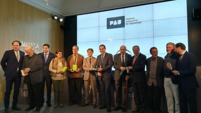 José Fiscal ha entregado los Premios Andalucía de Urbanismo en su segunda edición