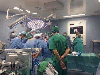 En los quirófanos del Infanta Elena se llevan a cabo las nuevas técnicas de reparación