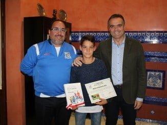Mosisés Aguilar recibe el reconocimiento de La Palma por su buena acción