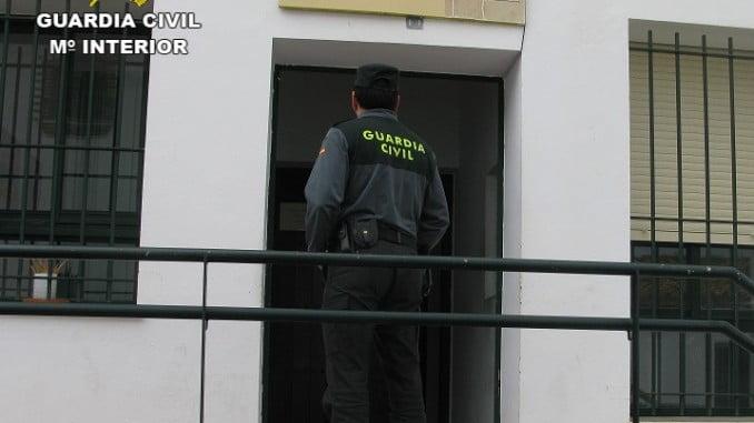 La Guardia Civil consiguió interceptar a los presuntos autores de los robos en la A-49