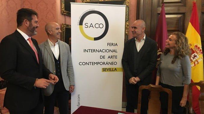 Presentación de la tercera edición de SACO, la Feria Internacional de Arte Contemporáneo