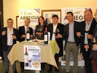 Presentación de la I Ruta Arnegui y el Choco en Huelva, con la participación de 56 restaurantes