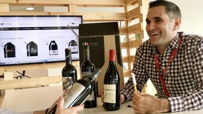 Sergio Tavira, responsable del desarrollo del ecommerce de vinos para Carrefour España