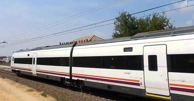 El tren tardó en llegar a Madrid más que el autobús