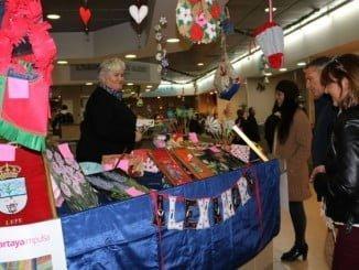 Feria artesanal navideña de Cartaya