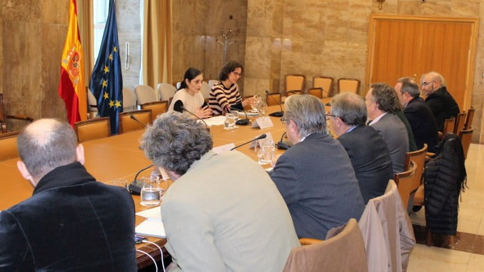 Encuentro con senadores y diputados  dentro del proceso de contactos para la elaboración del anteproyecto de Ley de Cambio Climático y Transición Energética