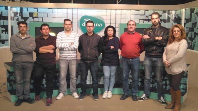 Plantilla de Doñana Televisión.