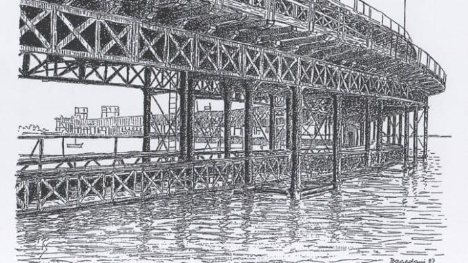 Obra de José Bacedoni del Muelle de la CIA Riotinto.