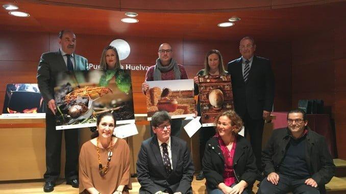 Los premiados junto a representantes de Fundación Atlantic Copper y miembros del jurado.