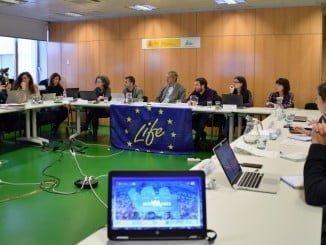 una delegación de la Comisión Europa se ha reunido con los coordinadores y socios del proyecto Life ip intemares