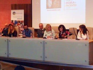 Congreso de la Escuela de Pacientes a la que ha asistido la asociación de enfermos cardiacos de Huelva.