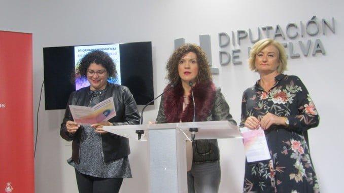 Imagen de la rueda de prensa de presentación de las Jornadas sobre Violencia de Género.