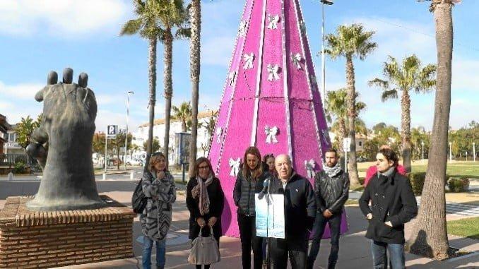 Imagen retrospectiva de una programación navideña en Islantilla