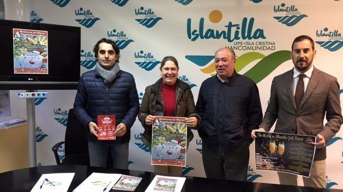 Presentación de la programación especial Islantilla en Navidad
