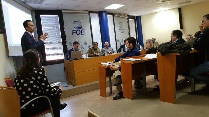 Atendiendo a las explicaciones de Francisco Muñoz, de Gaudia, sobre el Plan de Prevención de Delitos