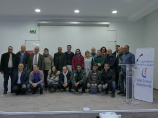 Foto de familia de los asistentes a las jornadas de Túnez