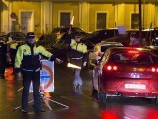 La Policía Local intensifica los controles de drogas y alcoholemia en Navidad