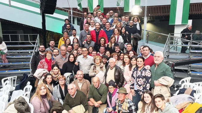 Caraballo junto a socialistas de toda la provincia en Torremolinos