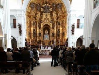 Clausura de la Semana del Mayor y ofrenda ante la Blanca Paloma