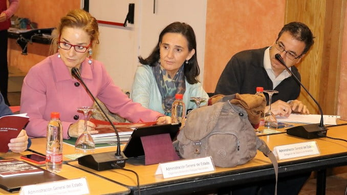 Reunión del pasado viernes del Consejo de Participación del Espacio Natural celebrada en Almonte
