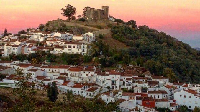 Cortegana, uno de los pueblos de la Sierra de Huelva para disfrutar del turismo rural