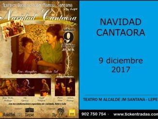 La esencia alegre de la Navidad llenó ayer el Teatro Municipal de Lepe