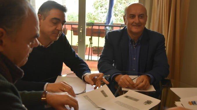 Reunión entre representantes de Fomento y el Ayuntamiento de Lepe sobre los accesos al Chare de Lepe