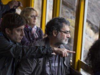El prestigioso fotógrafo Joan Fontcuberta en su visita a distintos lugares de la provincia