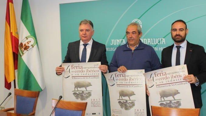 Presentando la decimotercera edición de la Feria Agroganadera de Villanueva de los Castillejos