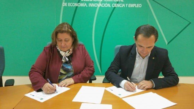 Firma del convenio entre Giahsa y SAE