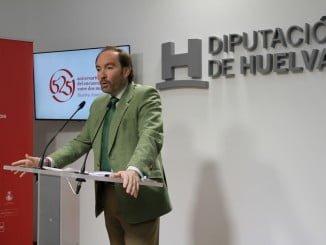 El vicepresidente de Diputación Provincial de Huelva ha dado a conocer los presupuestos de la institución para 2018